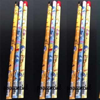 Winnie the Pooh Tigger Piglet Eeyore Pencils