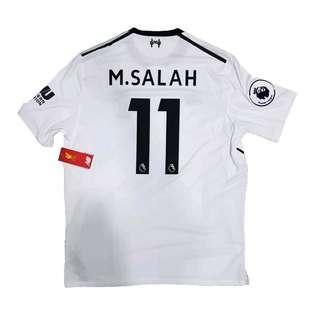 Original BNWT Liverpool FC 2017-2018 Away Shirt M. Salah #11
