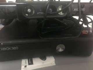 Xbox360 250g 火牛連兩手制 連kinect  包廿隻game.100%全work