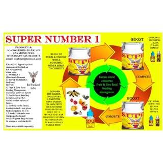 SUPER NUMBER 1 (RED WHISKERED BULBUL) HIGH ENERGY HIGH NUTRIENT BIRD FOOD