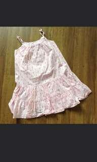 H & M girl pink dress
