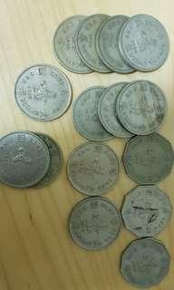 hong kong old coins