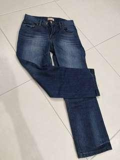 BN slim straight blue jeans for kid