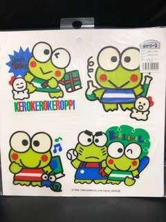Sanrio KP Kerokerokeroppi 1994 貼紙 (包郵)