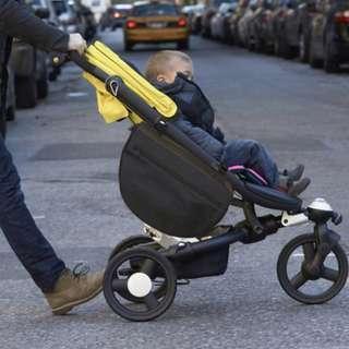 🚚 v✔️STOCK - CLASSIC BLACK ZIPPER HANDY SIDE STROLLER STORAGE BABY DIAPER ORGANIZER BAG MUMMY PRAM ACCESSORIES