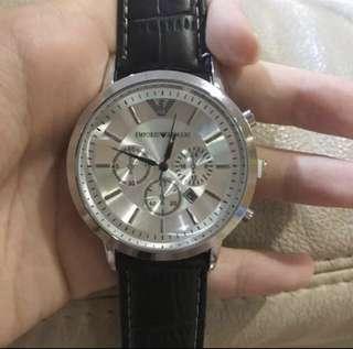 Emporio Armani Silver Unisex Watch