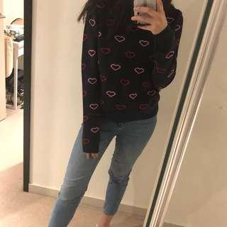 Topshop Love Sweater