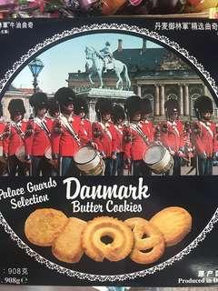 全新Danmark butter cookies 丹麥牛油曲奇 908g made in Denmark