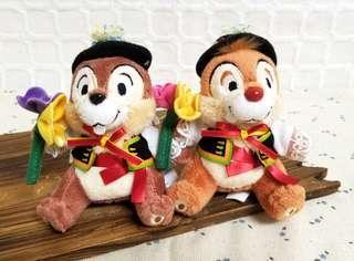 ☆絕版中古☆ 💯正品(包郵) Tokyo Disney SEA 25th Anniversary Chip n Dale 大鼻 鋼牙 奇奇 蒂蒂