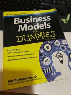 Preloved book Business Models for Dummies