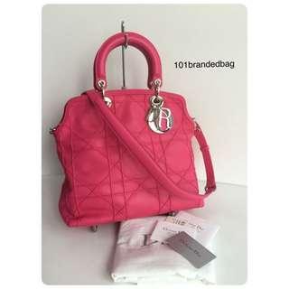 Christian Dior Granville 2Way Large Tote Bag