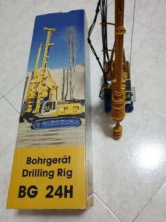 BAUER BORING RIG PILING RIG