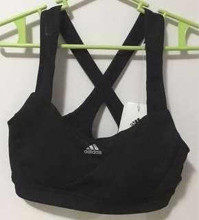 Adidas Black Sports Bra