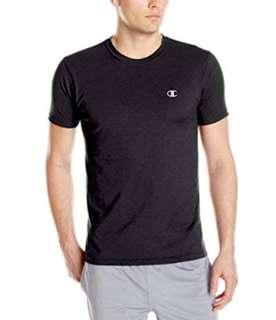 BNWT Champion Men Black vapor tee