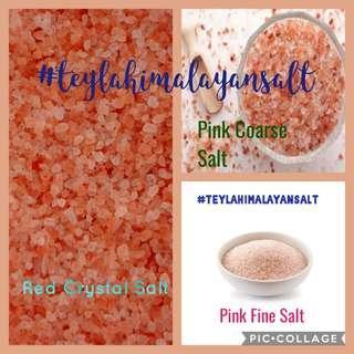 Edible Himalayan Red, Pink salt