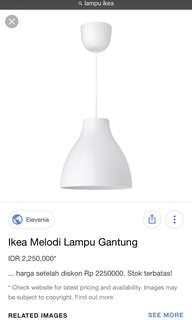 Ikea Ceiling Lamp