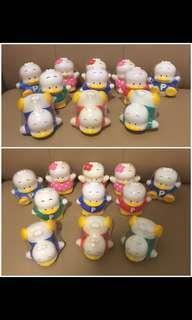 ** 分享** Sanrio Ahiru No Pekkle 鴨仔 (日本富士銀行) 人形膠詝金箱