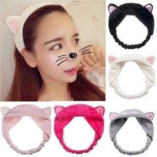 ❤️ BUY 2 FREE 1 Cute Korean Cat Ear Headband #subangjayaswap #ssv8