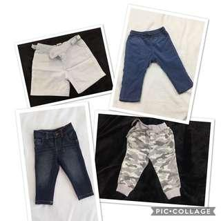 Baby Shorts & Long Pants (branded) PM for inquiries 🛒