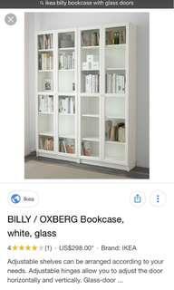 Billy Mirror Cabinet Bookcase