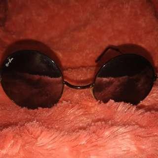 Black circle su glasses
