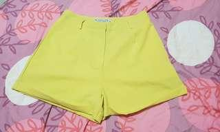 TTR Keepers Tailored Shorts in Sunshine