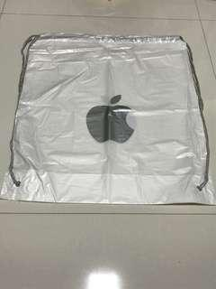 BN Apple Waterproof Plastic Drawstring Bag Apple Bag