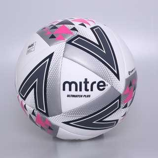 [Top Selling!!!] Mitre Ultimatch Plus Soccer Ball (White)