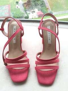 🚚 韓版粉紅涼鞋