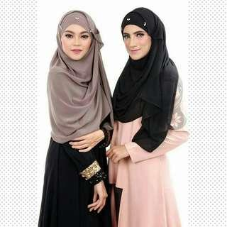 ❤2 Face Anne❤ Hijab Shawl Tudung