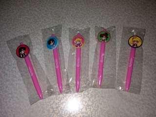 全新美少女戰士原子筆 (有3套)