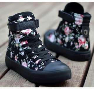 [NEW] [PO] PROMOTION FOR MONTH OF OCT 2018  !!!  Super Pretty Cool HIgh Cut Shoes! 36-40