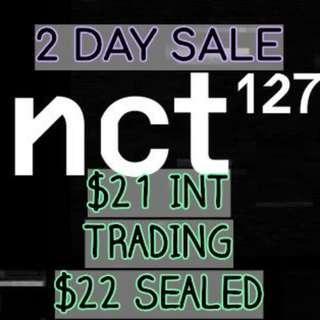 INCL EMS $21 NCT127 2 DAY SALE PRICE REULAR-IRREGULAR
