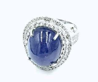 🚚 藍紫色丹泉戒指
