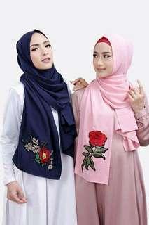 ❤Daisy Patch❤ Hijab Shawl Tudung