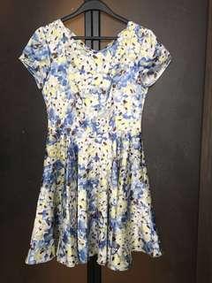 🚚 夏天涼感印花洋裝