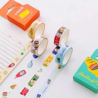 🚚 [In stock] Food Cupboard Washi Tapes