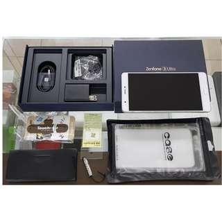 *典藏奇機*ASUS ZenFone 3 Ultra ZU680KL 4G+3G雙卡 6.8吋 2300萬!