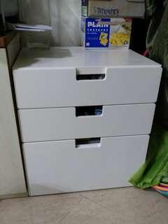 Ikea Stuva All White Chest Of Drawers Storage