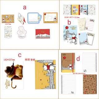 (訂購) Disney 迪士尼 Winnie The Pooh 小熊維尼 items