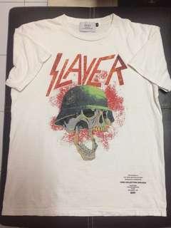 t shirt slayer rock band