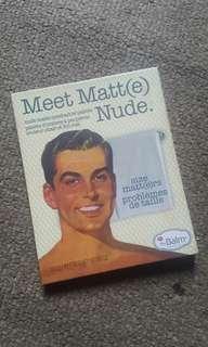 FREE ONGKIR jabodetabek...  Eyeshadow palette the balm mwet matte nude