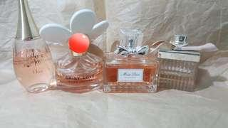 Assorted Perfumes (females)