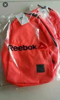 Reebok Sports Backpack / Bag / Coral Orange
