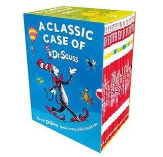 Dr Seuss Classic 20 books in a slipcase