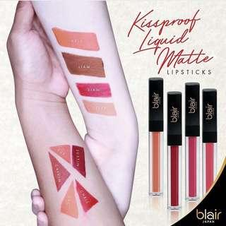 Kiss Proof liquid matte lipstick