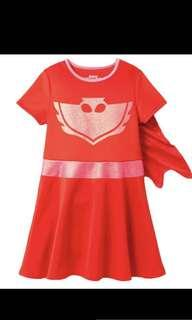 PO pj mask owlette dress set brand new size 4-8yrs old while stock last !'