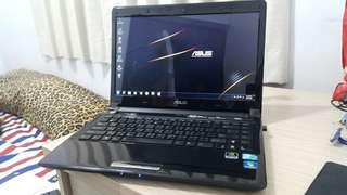 """ASUS UL80VT 14"""" inch thin notebook"""