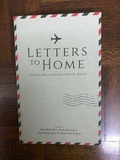 Letters to Home - Young Malaysians Write Back