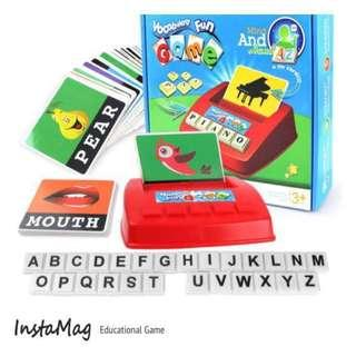 🚚 *INSTOCK* Scrabble Junior / Vocabulary Game